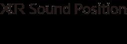 Logotipo de XR Sound Position