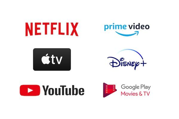 Más aplicaciones que ningún Smart TV