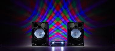 Imagen de Sistema de audio en casa de alta potencia con DVD