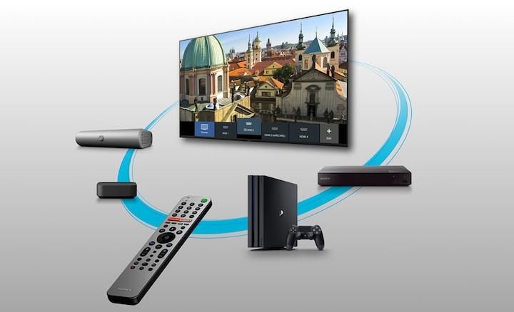 Control sencillo de varios dispositivos con el control remoto inteligente