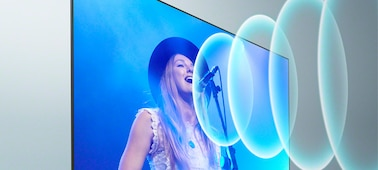 Imagen de cantante en concierto