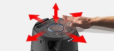 Imagen de Sistema de audio de alta potencia V43D con tecnología BLUETOOTH®