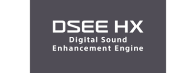 Optimiza música digital comprimida con DSEE HX