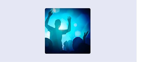 Imagen de Fiestable: manos en el aire