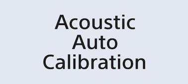 Logotipo de Acoustic Auto Calibration