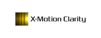 Logotipo de X-Motion Clarity