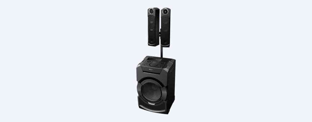 El equipo de sonido minicomponente con Bluetooth | MHC-GT5D