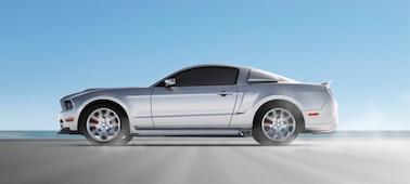 Imagen de auto con OLED XR Motion Clarity