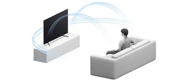 Detalle del sonido multidimensional con escalado Surround 3D