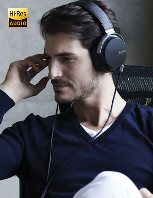 Audífonos con High-Resolution Audio