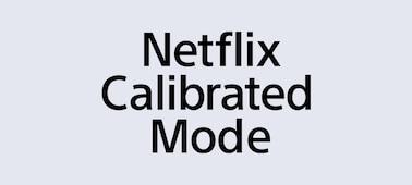 Logotipo del Netflix Calibrated Mode
