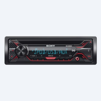 Imagen de Radio para auto de CD y display multicolor